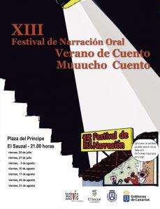 XIII Verano de cuento - cartel