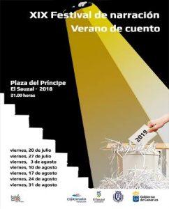 XIX Verano de cuento - cartel