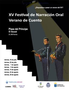 XV Verano de cuento - cartel